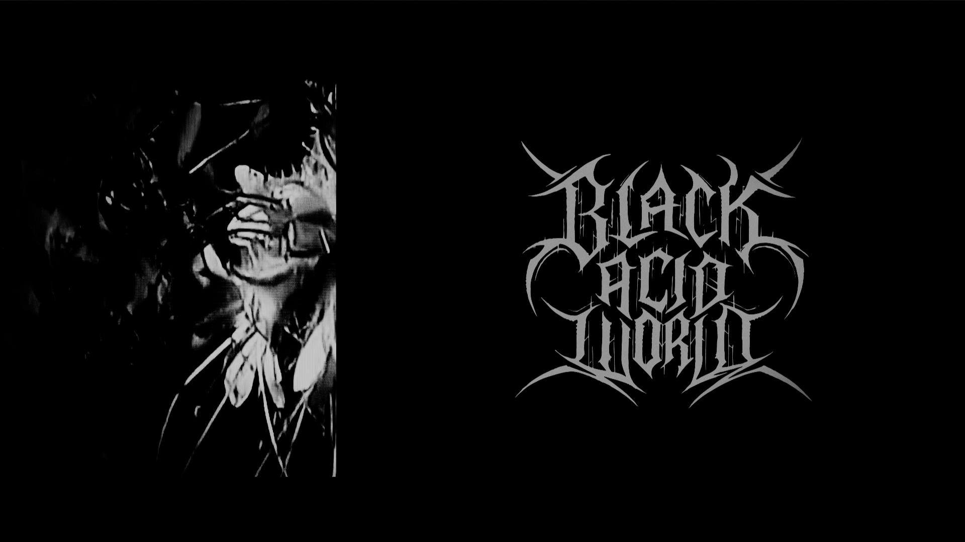 BLACK ACID WORLD – /ʌɪsəˈleɪʃ(ə)n/ IS OUT NOW!